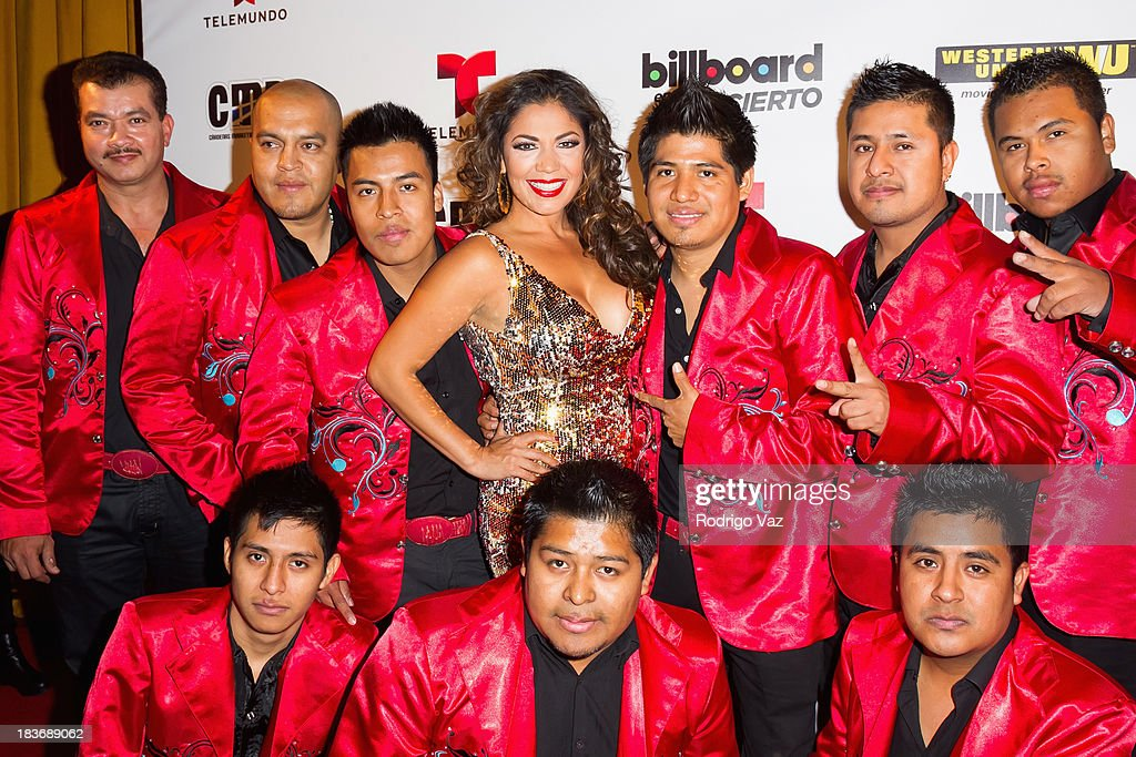 Singer Keila Ponce and her band attend Billboard In Concert Series presents Calibre 50 at The Conga Room at L.A. Live on October 8, 2013 in Los Angeles, California.