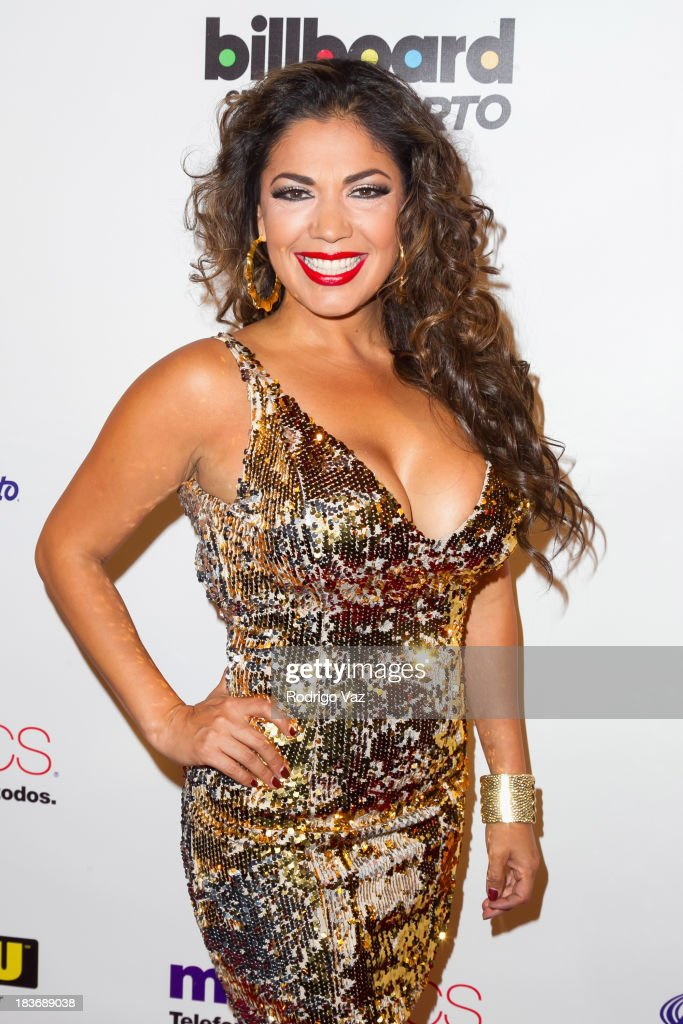 Singer Keila Ponce attends Billboard In Concert Series presents Calibre 50 at The Conga Room at L.A. Live on October 8, 2013 in Los Angeles, California.