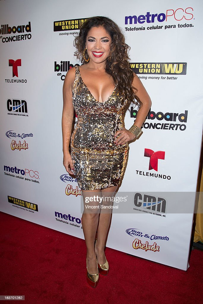 Singer Keila Ponce attends Billboard In Concert Series presents Calibre 50 at The Conga Room at The Conga Room at L.A. Live on October 8, 2013 in Los Angeles, California.