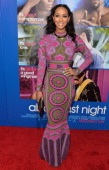Singer Keir Hilson arrives at The Pan African Film Arts Festival Premiere of Screen Gems' 'About Last Night' at ArcLight Cinemas Cinerama Dome on...