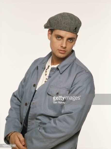 Singer Keith Duffy of Irish boy band Boyzone circa 1995