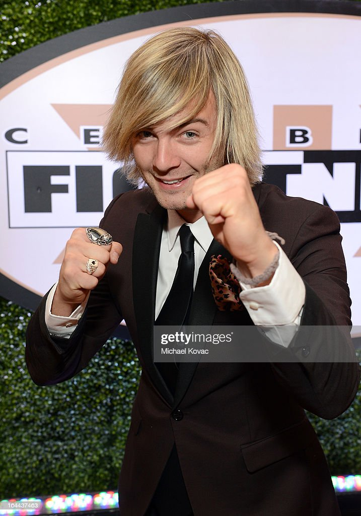 Singer Keith Harkin with Moet & Chandon at Celebrity Fight Night XIX at JW Marriott Desert Ridge Resort & Spa on March 23, 2013 in Phoenix, Arizona.
