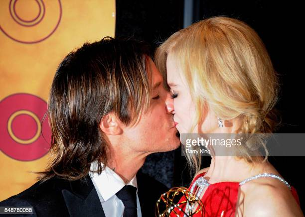 Singer Keith Urban and actress Nicole Kidman attend HBO's Post Emmy Awards Reception at The Plaza at the Pacific Design Center on September 17 2017...