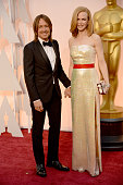 Singer Keith Urban and actress Nicole Kidman attend the 87th Annual Academy Awards at Hollywood Highland Center on February 22 2015 in Hollywood...