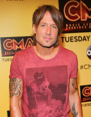 Singer Keith Urban attends a preshow press conference during day 4 of the 2015 CMA Festival on June 14 2015 in Nashville Tennessee