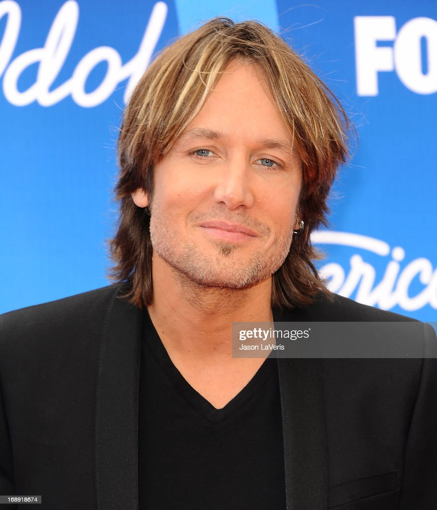Singer <a gi-track='captionPersonalityLinkClicked' href=/galleries/search?phrase=Keith+Urban&family=editorial&specificpeople=202997 ng-click='$event.stopPropagation()'>Keith Urban</a> attends the American Idol 2013 finale at Nokia Theatre L.A. Live on May 16, 2013 in Los Angeles, California.