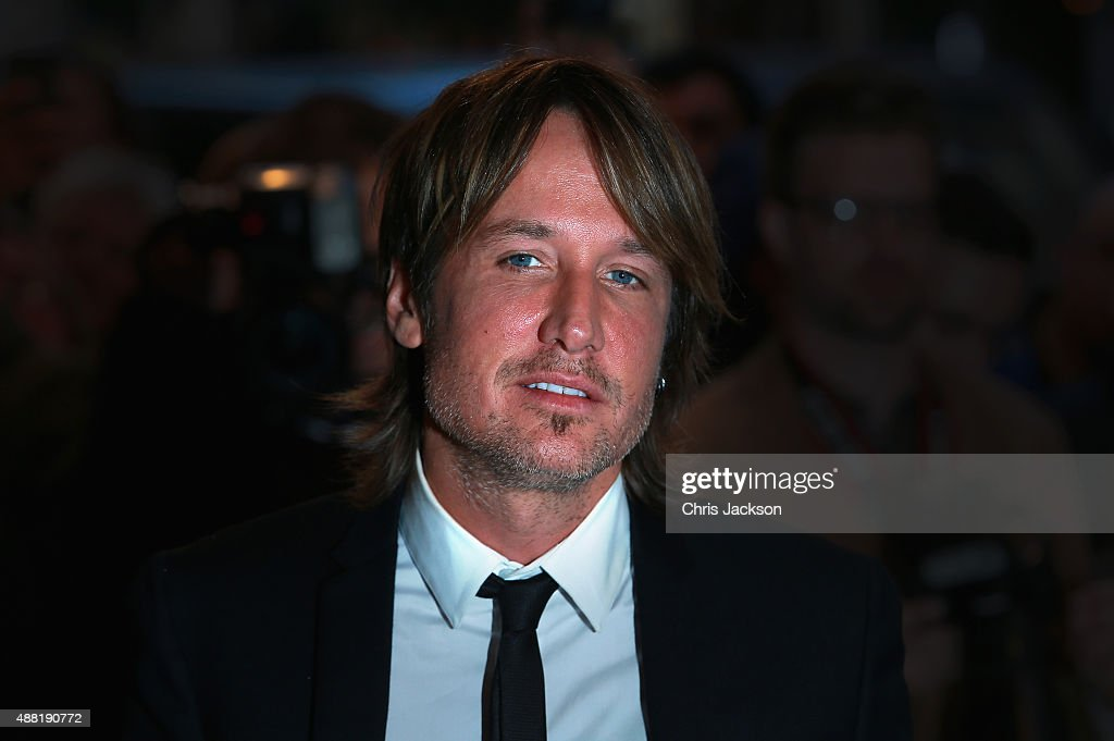 Singer Keith Urban attends the press night of 'Photograph 51' at Noel Coward Theatre on September 14, 2015 in London, England.