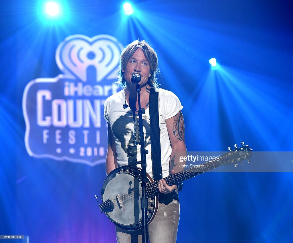 Singer Keith Urban performs onstage during the 2016 iHeartCountry Festival at The Frank Erwin Center on April 30, 2016 in Austin, Texas.