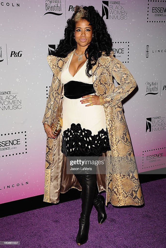 Singer Kelis attends the 4th annual ESSENCE Black Women In Music event at Greystone Manor Supperclub on February 6, 2013 in West Hollywood, California.
