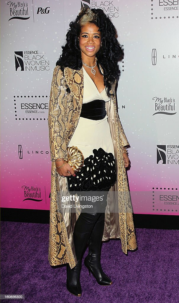 Singer <a gi-track='captionPersonalityLinkClicked' href=/galleries/search?phrase=Kelis&family=editorial&specificpeople=203061 ng-click='$event.stopPropagation()'>Kelis</a> attends the 4th Annual ESSENCE Black Women In Music honoring Lianne La Havas and Solange Knowles at Greystone Manor Supperclub on February 6, 2013 in West Hollywood, California.