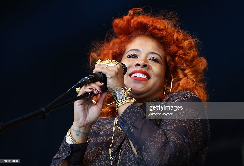 Singer <a gi-track='captionPersonalityLinkClicked' href=/galleries/search?phrase=Kelis&family=editorial&specificpeople=203061 ng-click='$event.stopPropagation()'>Kelis</a> performs live on the main stage during day two of the On Blackheath Festival at Blackheath Common on September 13, 2015 in London, England.