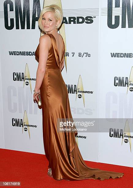 Singer Kellie Pickler arrives at the 41st Annual CMA Awards at the Sommet Center on November 7 2007 in Nashville TN