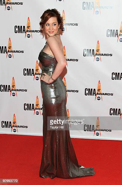 Singer Kellie Pickler attends the 43rd Annual CMA Awards at the Sommet Center on November 11 2009 in Nashville Tennessee