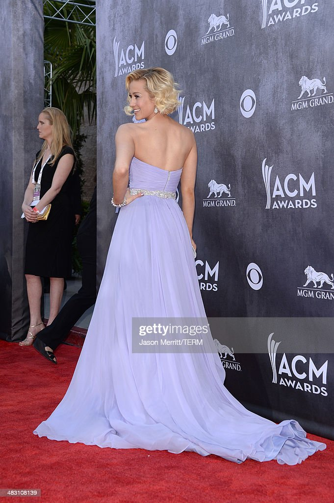 Singer Kellie Pickler attends the 49th Annual Academy Of Country Music Awards at the MGM Grand Garden Arena on April 6, 2014 in Las Vegas, Nevada.