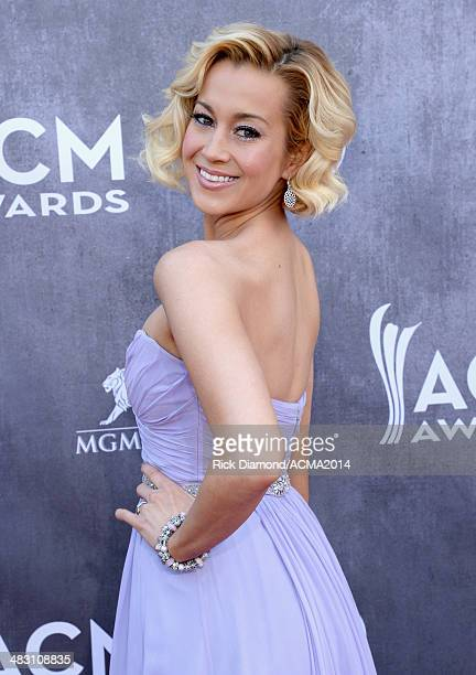 Singer Kellie Pickler attends the 49th Annual Academy of Country Music Awards at the MGM Grand Garden Arena on April 6 2014 in Las Vegas Nevada