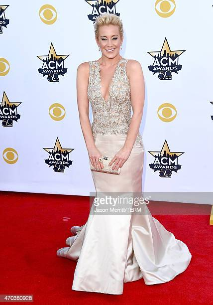 Singer Kellie Pickler attends the 50th Academy of Country Music Awards at ATT Stadium on April 19 2015 in Arlington Texas