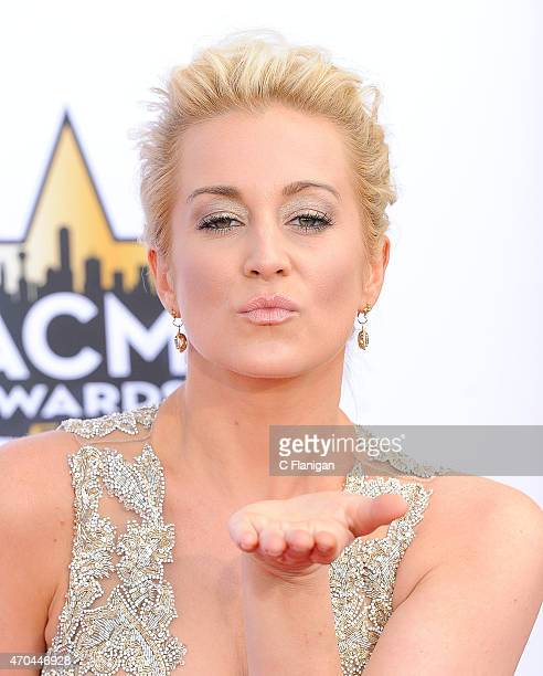 Singer Kellie Pickler attends the 50th Academy of Country Music Awards at ATT Stadium on April 19 2015 in Arlington Texas