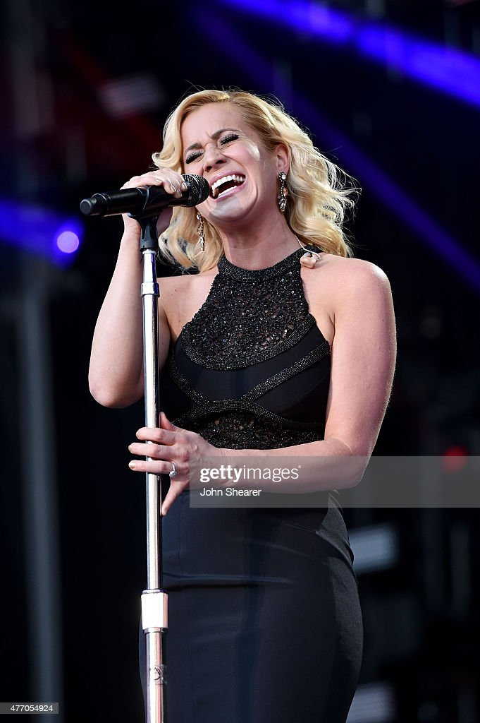 Singer Kellie Pickler performs onstage during the 2015 CMA Festival on June 13 2015 in Nashville Tennessee
