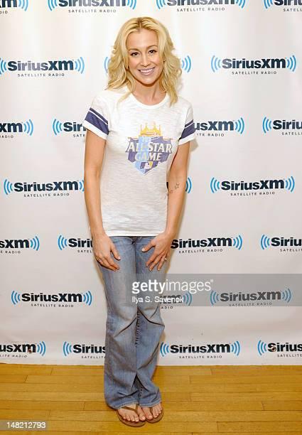 Singer Kellie Pickler visits SiriusXM Studios on July 12 2012 in New York City