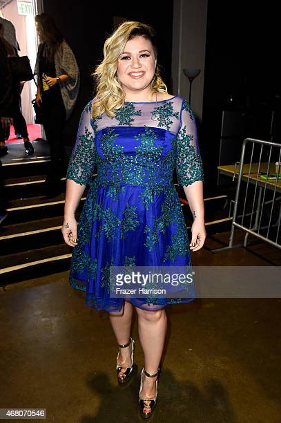 Singer Kelly Clarkson attends the 2015 iHeartRadio Music Awards which broadcasted live on NBC from The Shrine Auditorium on March 29 2015 in Los...