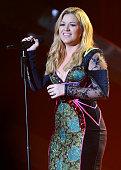 Singer Kelly Clarkson onstage at 'VH1 Divas' 2012 held at The Shrine Auditorium on December 16 2012 in Los Angeles California