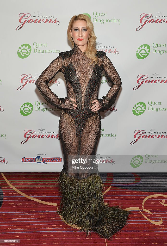 Singer Kelly King attends the 28th annual Night of a Thousand Gowns at the Marriott Marquis Times Square on March 29, 2014 in New York City.