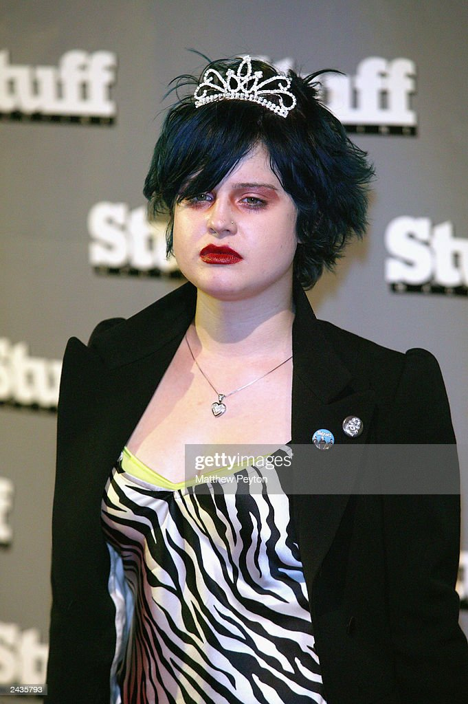 Singer Kelly Osbourne arrives at Stuff Magazine's PreVMA Party at Show August 27 2003 in New York City