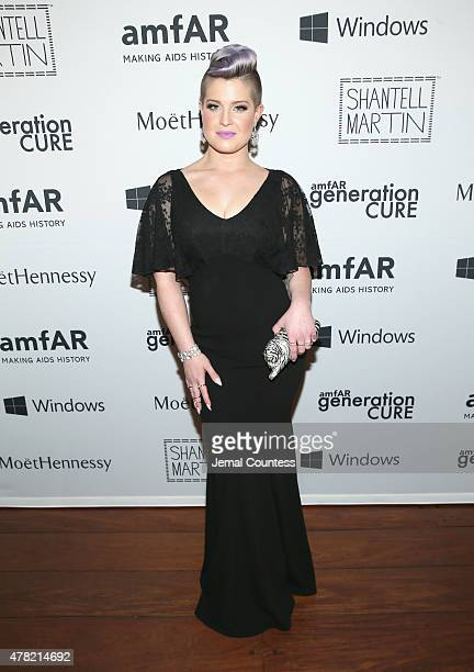 Singer Kelly Osbourne attends 4th Annual Solstice Presented By amfAR's generationCURE at Hudson Hotel on June 23 2015 in New York City