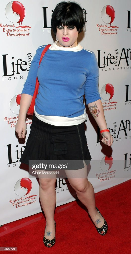 Singer Kelly Osbourne attends 'The Red Party' on December 13 2003 in Beverly Hills California