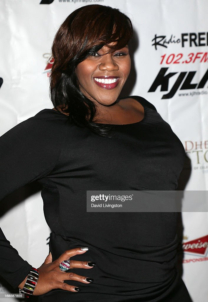 Singer <a gi-track='captionPersonalityLinkClicked' href=/galleries/search?phrase=Kelly+Price+-+Singer&family=editorial&specificpeople=4517469 ng-click='$event.stopPropagation()'>Kelly Price</a> attends Stevie Wonder's 63rd birthday celebration at the House of Music & Entertainment on May 11, 2013 in Beverly Hills, California.