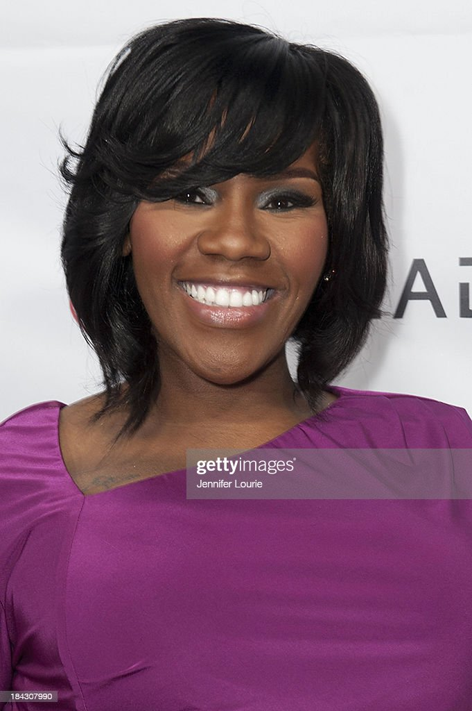 Singer Kelly Price attends the 23rd Annual HIV/AIDS benefit concert DIVAS Simply Singing! at Club Nokia on October 12, 2013 in Los Angeles, California.