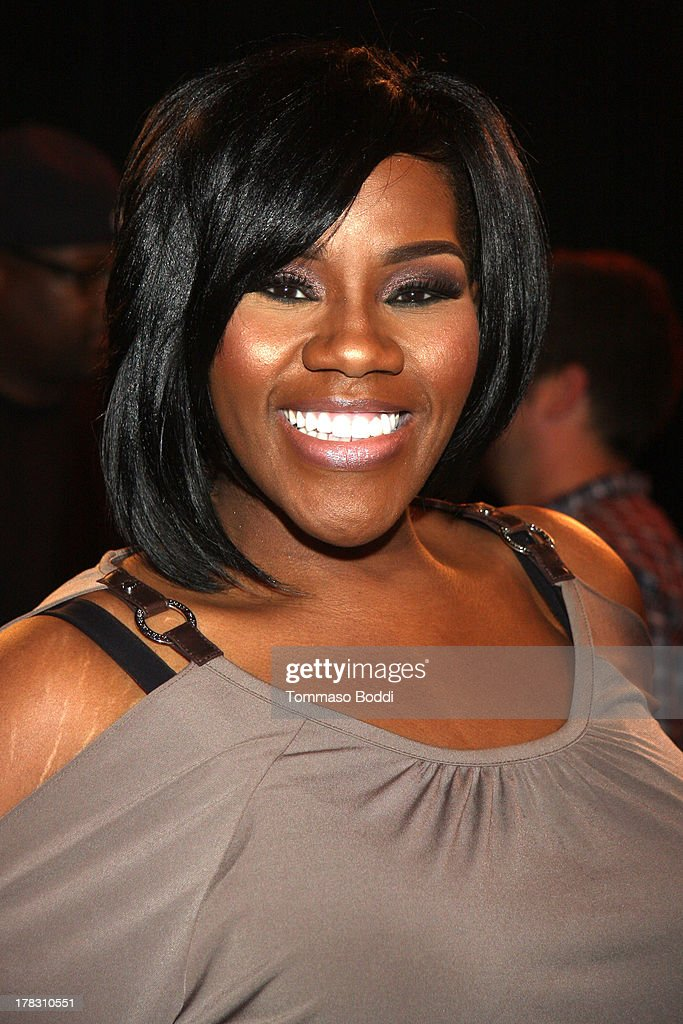 Singer Kelly Price attends the live casting auditions for new reality show 'Too Fat For Fame' held at The Complex Hollywood on August 28, 2013 in Los Angeles, California.