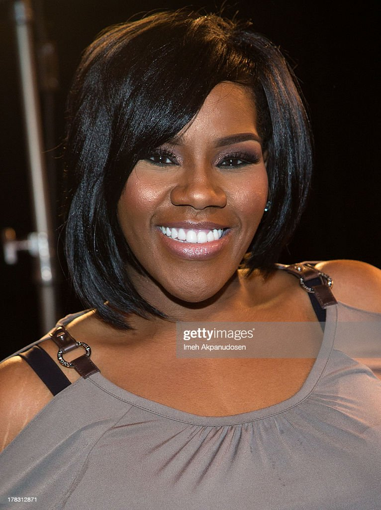 Singer Kelly Price attends the live casting auditions for the new reality show 'Too Fat For Fame' at The Complex Hollywood on August 28, 2013 in Los Angeles, California.