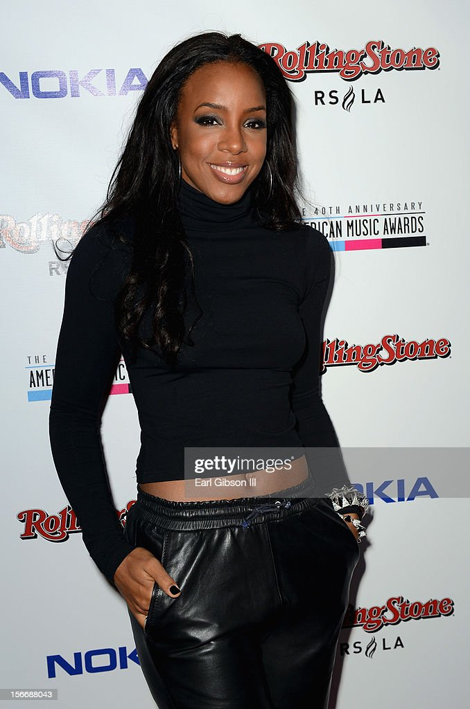 Singer Kelly Rowland arrives at Rolling Stone Magazine Official 2012 American Music Awards VIP After Party presented by Nokia and Rdio at Rolling Stone Restaurant And Lounge on November 18, 2012 in Los Angeles, California.