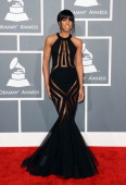 Singer Kelly Rowland arrives at the 55th Annual GRAMMY Awards at Staples Center on February 10 2013 in Los Angeles California