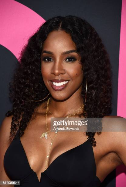 Singer Kelly Rowland arrives at the premiere of Universal Pictures' 'Girls Trip' at the Regal LA Live Stadium 14 on July 13 2017 in Los Angeles...