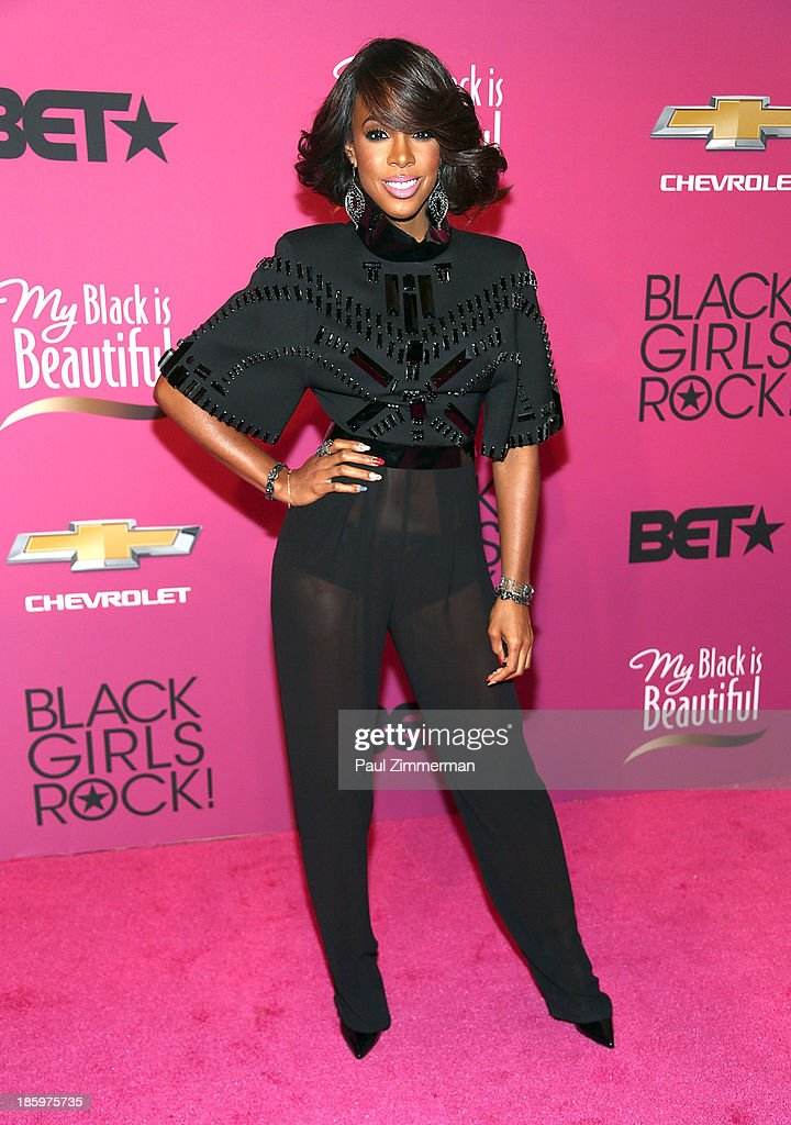 Singer <a gi-track='captionPersonalityLinkClicked' href=/galleries/search?phrase=Kelly+Rowland&family=editorial&specificpeople=201760 ng-click='$event.stopPropagation()'>Kelly Rowland</a> attends Black Girls Rock! 2013 at New Jersey Performing Arts Center on October 26, 2013 in Newark, New Jersey.