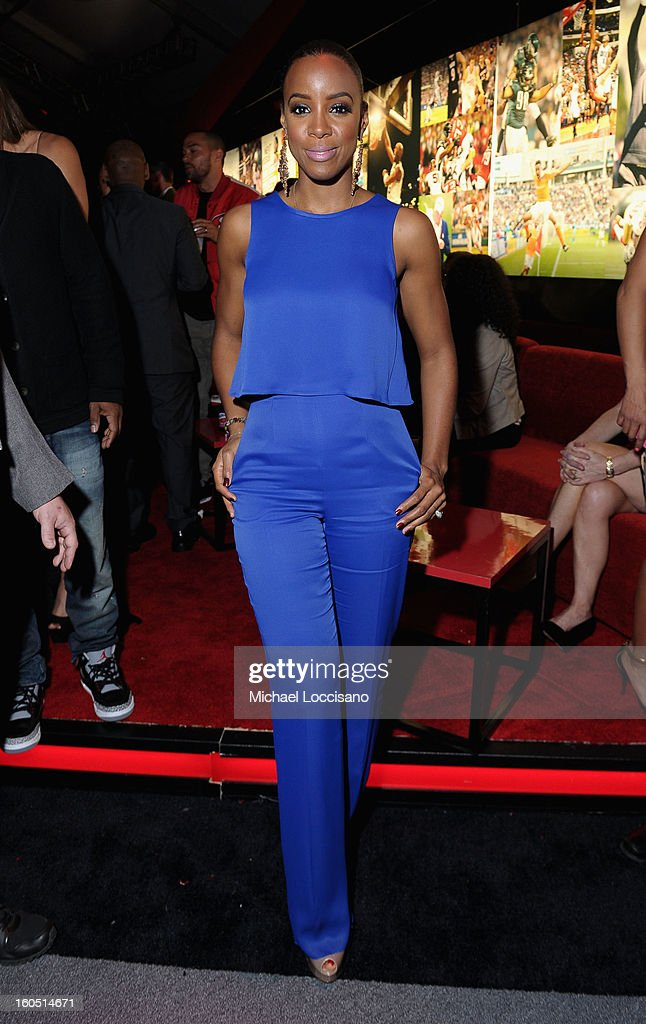 Singer Kelly Rowland attends ESPN The Magazine's 'NEXT' Event at Tad Gormley Stadium on February 1, 2013 in New Orleans, Louisiana.