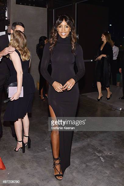 Singer Kelly Rowland attends the 2015 Baby2Baby Gala presented by MarulaOil Kayne Capital Advisors Foundation honoring Kerry Washington at 3LABS on...