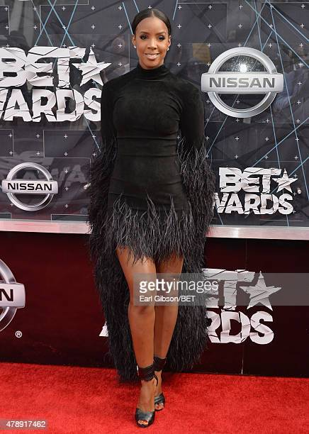 Singer Kelly Rowland attends the 2015 BET Awards at the Microsoft Theater on June 28 2015 in Los Angeles California