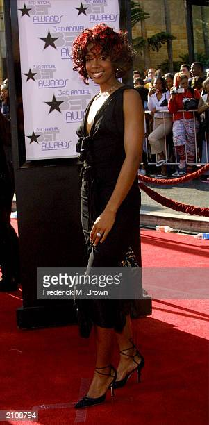 Singer Kelly Rowland attends the 3rd Annual BET Awards Show at the Kodak Theatre June 24 2003 in Hollywood California