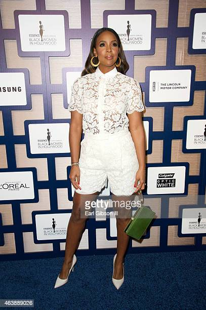 Singer Kelly Rowland attends the 8th Annual ESSENCE Black Women In Hollywood Luncheon at the Beverly Wilshire Four Seasons Hotel on February 19 2015...