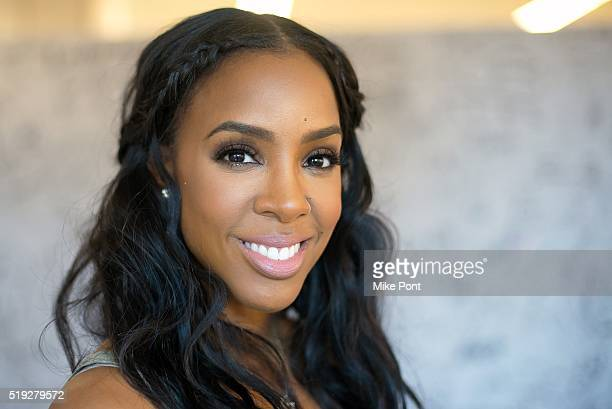 Singer Kelly Rowland attends the AOL Build Series to discuss 'Chasing Destiny' at AOL Studios in New York on April 5 2016 in New York City
