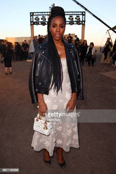 Singer Kelly Rowland attends the Christian Dior Cruise 2018 Runway Show at the Upper Las Virgenes Canyon Open Space Preserve on May 11 2017 in Santa...