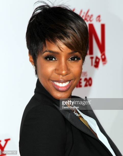 Singer Kelly Rowland attends the Premiere Of Screen Gems' 'Think like a man too' at TCL Chinese Theatre on June 9 2014 in Hollywood California