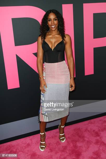 Singer Kelly Rowland attends the premiere of Universal Pictures' 'Girls Trip' at Regal LA Live Stadium 14 on July 13 2017 in Los Angeles California