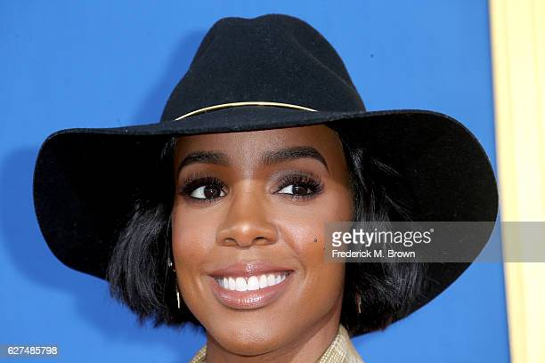 Singer Kelly Rowland attends the premiere Of Universal Pictures' 'Sing' on December 3 2016 in Los Angeles California