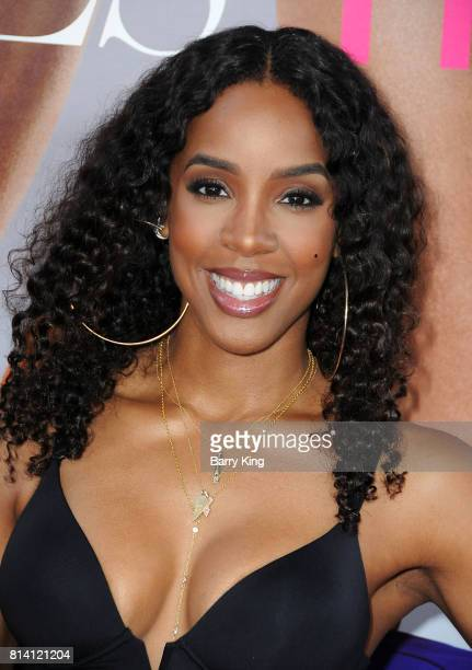 Singer Kelly Rowland atttends the premiere of Universal Pictures' 'Girls Trip' at Regal LA Live Stadium 14 on July 13 2017 in Los Angeles California