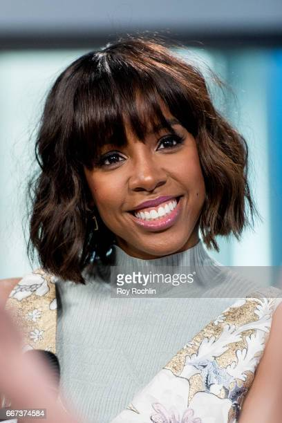 Singer Kelly Rowland discusses 'Whoa Baby' with the build series at Build Studio on April 11 2017 in New York City
