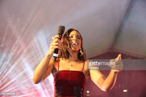 SYDNEY NSW Singer Kelly Rowland performs at the CocaCola No Sugar launch at Centenary Square in Parramatta Sydney New South Wales